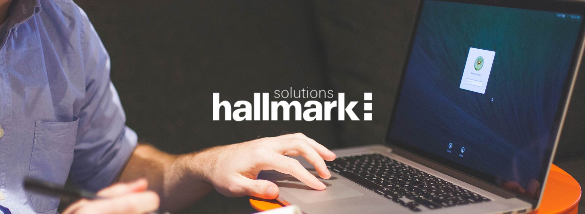 New Brand Design Client: Hallmark Solutions HR Software main image