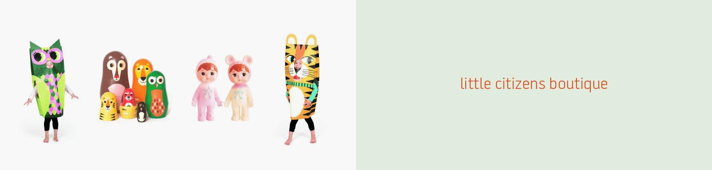 New Web Design Client: Little Citizen's Boutique Toy Shop main image