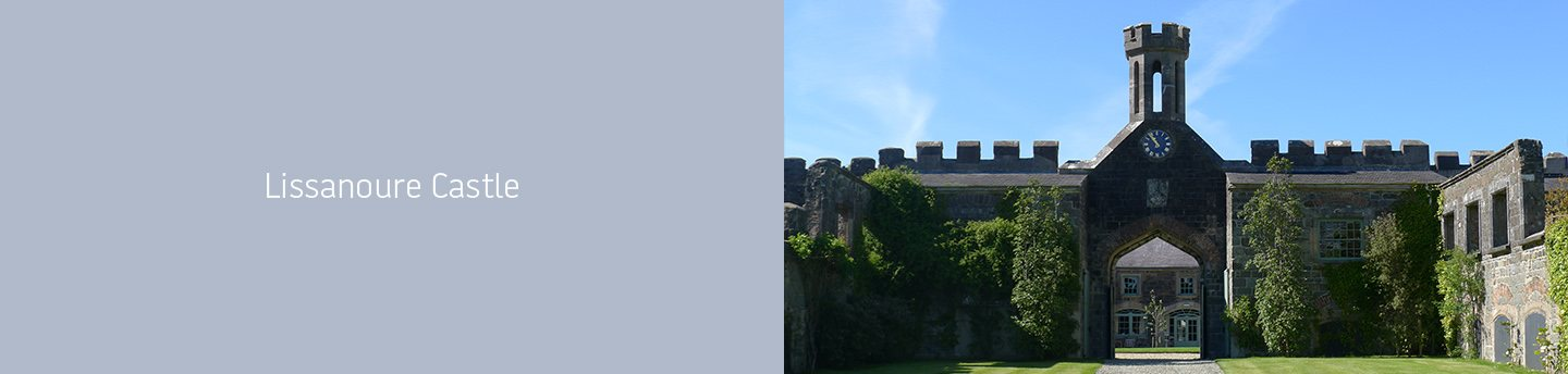 New Web Design Client: Lissanoure Castle Northern Ireland main image
