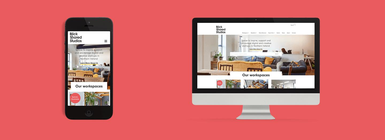 New Web Design Project Live: Blick Studios main image