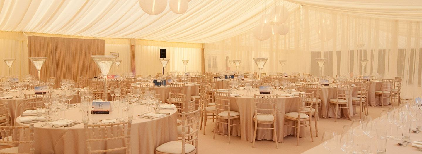 New Web Design Client: Northdown Marquees main image